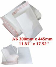 100 J/6 J6 White Strong Padded Bubble Postal MAIL Envelopes LITE Cheap 300x445mm