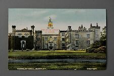 R&L Postcard: Townley Hall, Burnley, Crest Coat of Arms, GD&D