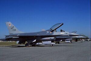 Original colour slide F-16A 79331/LF of 58 TFW USAF