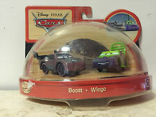 Disney Cars Original WOOD Collection Set - Boost & Wingo VERY RARE