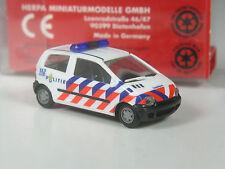Sonderpreis: Herpa Holland Renault Twingo Politie in OVP