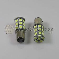 2 x Bombillas 27 LED SMD BAY15D Coche Freno, DRL, Posicion Bombilla Blanco Xenon