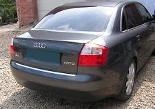 Rear Trunk Spoiler Lip RARE & UNIQUE - for Audi A4 & S4 2002 - 2005 B6 ABS