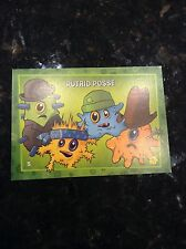 RARE PLANTS VS ZOMBIES STOP ZOMBIE MOUTH TRADING CARDS PUTRID POSSE CARD #5