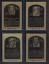 BASEBALL HALL OF FAME METALLIC CARD  1984   BROOKS ROBINSON