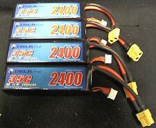 Set of Four DSLRPros LiPo Battery 3S 2400 mAH 35C - Phantom 1
