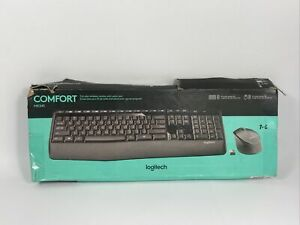 Logitech MK345 (920006481) Wireless Keyboard and Optical Mouse Combo open box