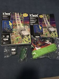 K'Nex Knex 13409 Amazin' 8 Roler Coaster Building Set NEW  Motorized 448 pcs