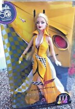 BARBIE CORVETTE YELLOW NRFB - PINK LABEL new model muse doll collection Mattel