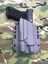 Battleship Gray Kydex Holster for Glock 17 22 Thread Barrel Surefire X300 Ultra