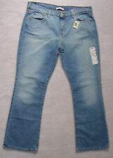 NWT Womens LEVI'S 515 Blue STRETCH DENIM JEANS 12S 10S 8S BOOT Leg30 MadeMEXICO