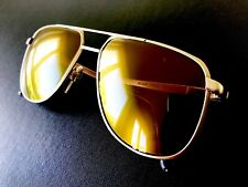 vintage RODENSTOCK exclusiv 7054 sunglasses titanium matte gold West Germany 002