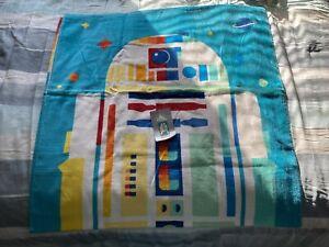 """Disney Store Star Wars R2-D2 Beach Towel 29""""x59"""" New W/Tags"""