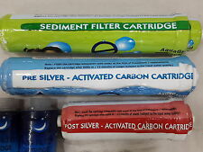 Pre/Post Carbon & Sediment Filters For Eureka Forbes Reviva RO Water/Purifier