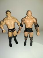 WWE MATTEL EVOLUTION Randy Orton Batista Wrestling BUNDLE