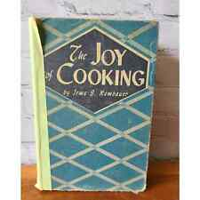 Vintage The Joy of Cooking 1943 Edition Cookbook Irma S. Rombauer