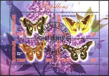 Used S/S  Fauna  Butterflies  2013 from Malawi  avdpz