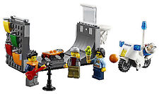 New LEGO Skate Ramp And Police Motorbike Split From Lego City Set 60200 No Box