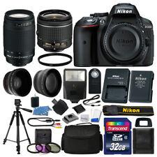 Nikon D5300 Digital SLR Camera 32GB 4 Lens Kit: 18-55mm VR + 70-300mm Best Value
