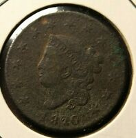 1820 U.S. Large Cent !! Will Combine Shipping!