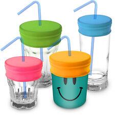 Coperchi per Cannuccia Riutilizzabili Silicone morbido Senza BPA - Set di 4