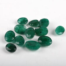 Loose Zambian Emerald 100 Cts./12 Pieces Natural Green Emerald Loose Gems Lot