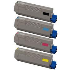 4-Pack Toner Set for Okidata Oki C610 C610N C610DN C610CDN 44315312