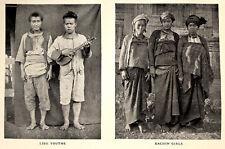 1923 Kingdon Ward - CHINA TO BURMA - Yangtze Irrawady - PRE-DATES RARE BOOK - 07