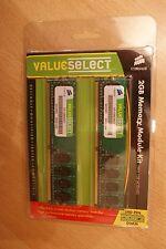 Corsair ValueSelect Arbeitsspeicher »DIMM 2 GB DDR2-533 Kit