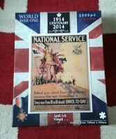 WORLD WAR ONE National Service 1000 Jigsaw Puzzle 1914 CENTENARY Lest We Forget