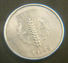 Vorzügliche Münzen der DDR aus Aluminium