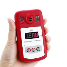 Portable Gas Leak Detector Propane Methane Natural Gas Safe Alarm Sensor KXL-602