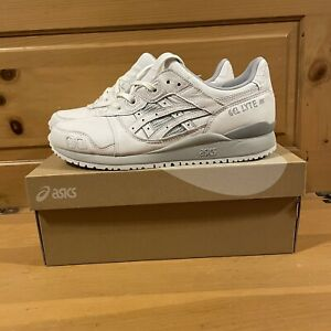 Asics Men's Gel-Lyte III OG 1201A081-100 White Grey Shoes Size 10.5
