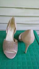 Nine West heels size 8.5 tan