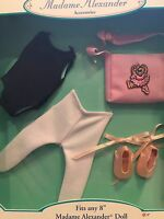 "Madame Alexander Accessories Ballerina Set for 8"" doll NIB"
