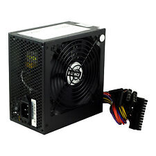 Negro 500w 12cm De Ventilador Silencioso Pc Power Supply Atx Computadora PSU 500 vatios Sata 24 Pines