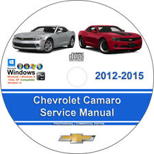 Repair manuals literature ebay chevrolet camaro 2012 2013 2014 2015 factory workshop service repair manual fandeluxe Gallery