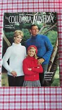 Columbia Minerva 755 Great American Knits Patterns Family Sweaters Dress 1960s