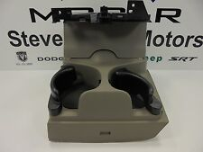 02-05 Dodge Ram 1500 2500 New Instrument Panel Cup Holder Slate Taupe Mopar Oem
