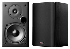 Polk Audio T15 BLACK 2 Way Bookshelf Speakers  PAIR  NEW