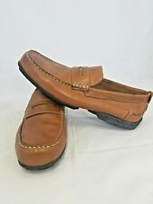 82615b0d2da9 Florsheim University Slip On Cognac Penny Loafers 13153 Men s Shoes 10.5 M  EUC