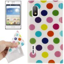 Custodia Protettiva Design Cover Posteriore Guscio Per Cellulare Punti Per LG Optimus l5/e610 Top