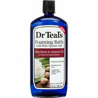 Dr. Teal's 34 oz Shea Butter & Almond Foaming Bath With Pure Epsom Salt