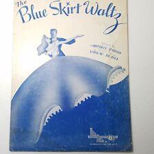 The Blue Skirt Waltz (Sukynka) 1944 Sheet Music Mills Music Vaclav Blaha