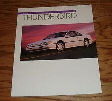 Original 1993 Ford Thunderbird Sales Brochure 93 LX Super Coupe