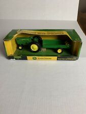 JOHN DEERE, ERTL, Farm Toy Tractor with Manure Spreader 60th Anniversary