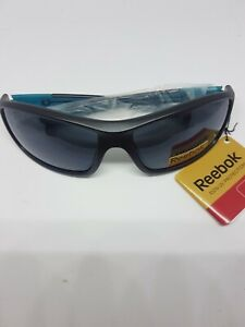 Reebok Classic 2 Golf Sunglasses, dk grey Frame/teal Mirror Lens RRP £44.99