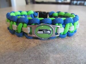 Seattle Seahawks NFL Paracord Bracelet