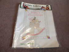 """Daisy Kingdom Stamped Cross Stitch Panel """"Baby's Christmas"""" 1 Panel Directions"""