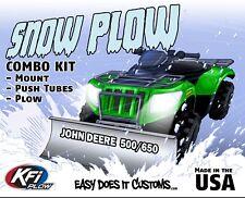 "John Deere 500 / 650 Buck - 2004-2006 KFI ATV 48"" Snow Plow Combo Kit"